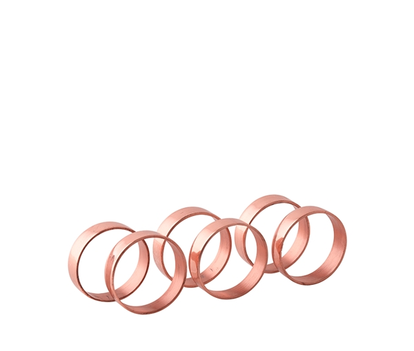 NAPKIN RING 'RING' COPPER