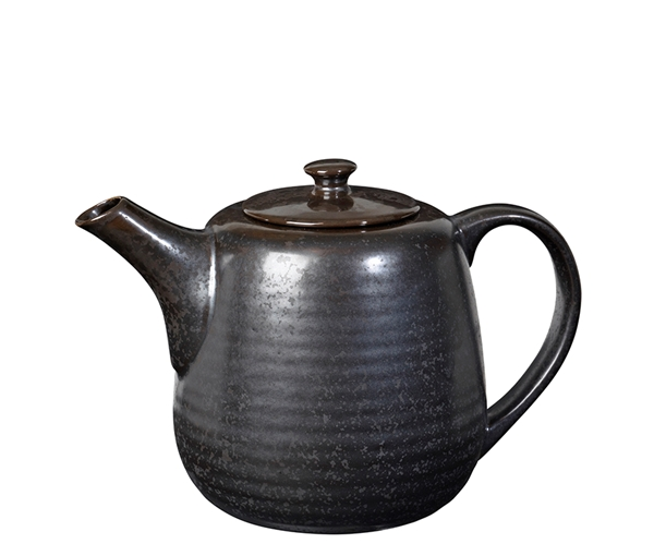 TEA POT 'ESRUM NIGHT' STONEW.