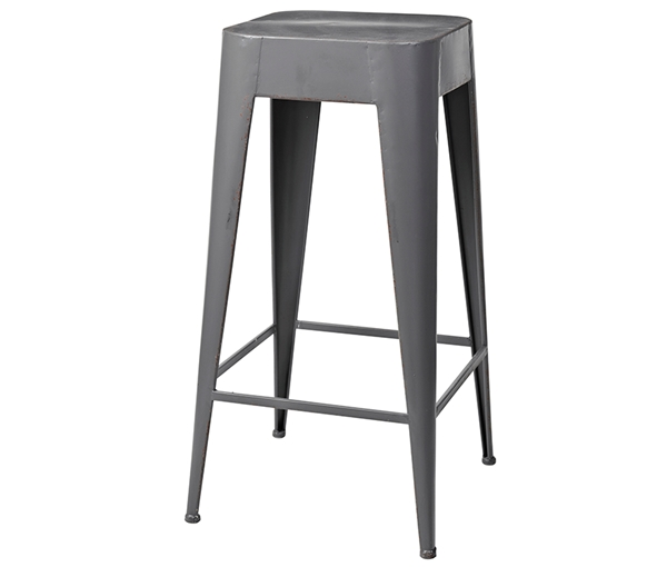 STOOL 'DARYLL'  TALL METAL