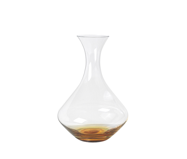 DECANTER 'AMBER' GLASS