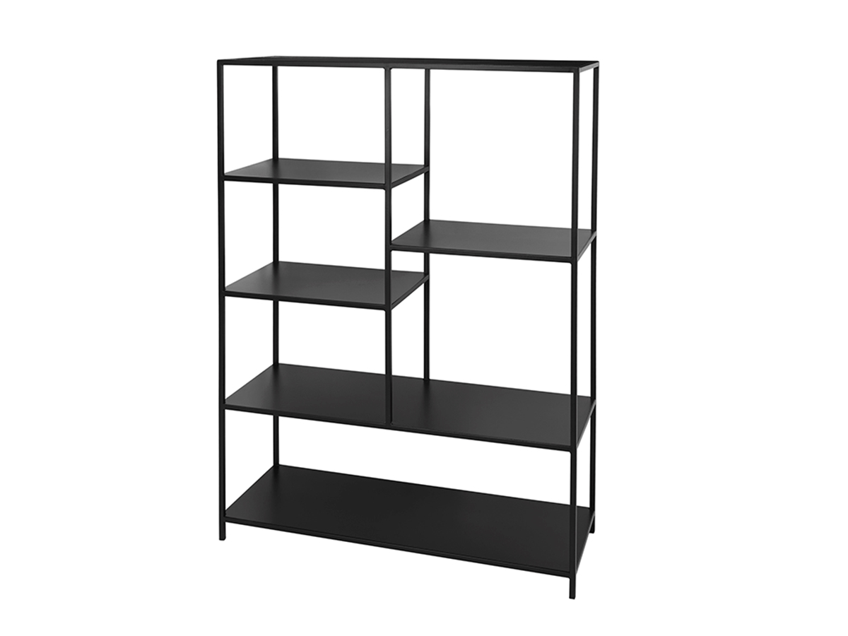 BOOKCASE 'RYLE' IRON