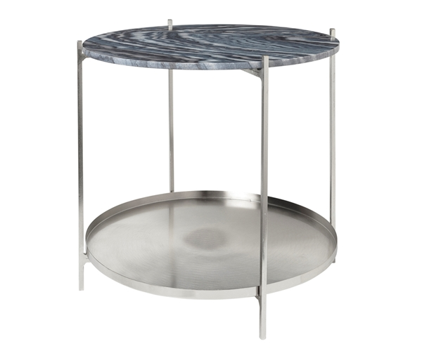 TABLE 'TRISTAN' MARBLE/IRON