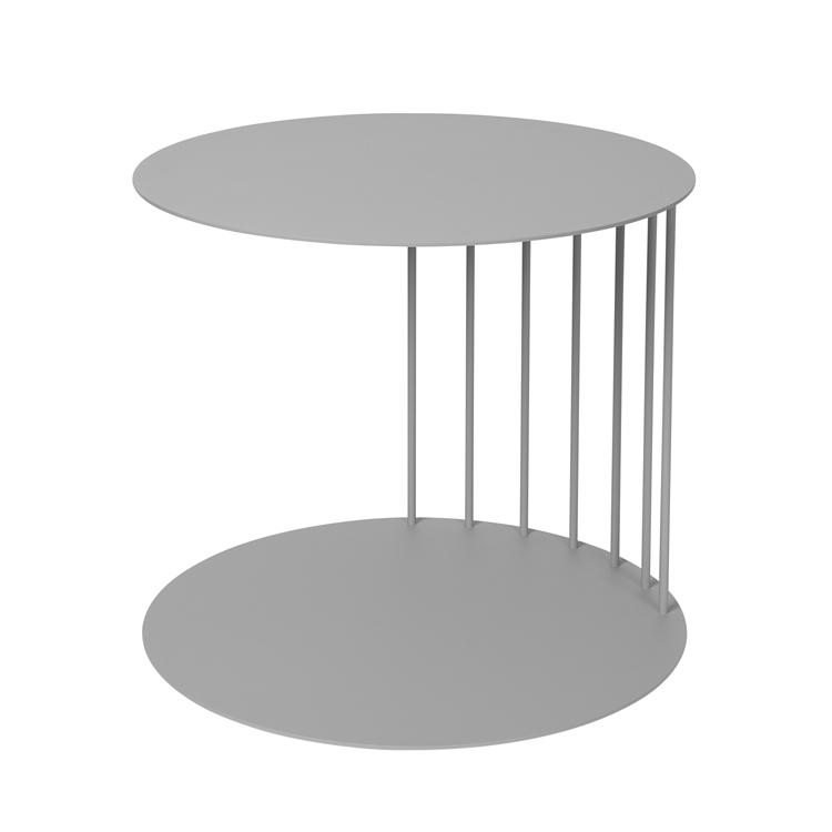 Pouf Table Tone Steel