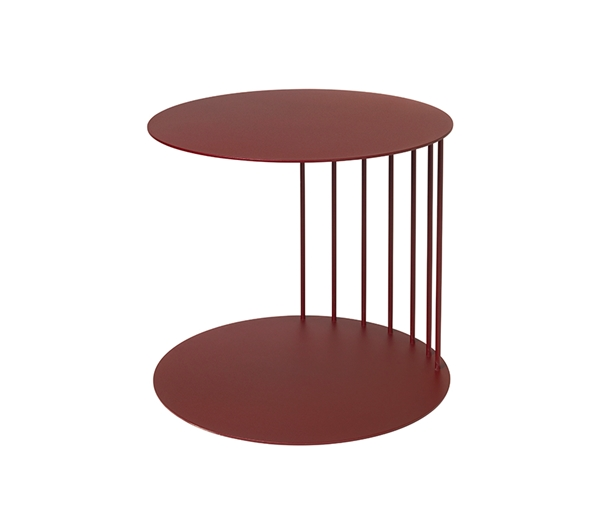 POUF TABLE 'TONE' STEEL