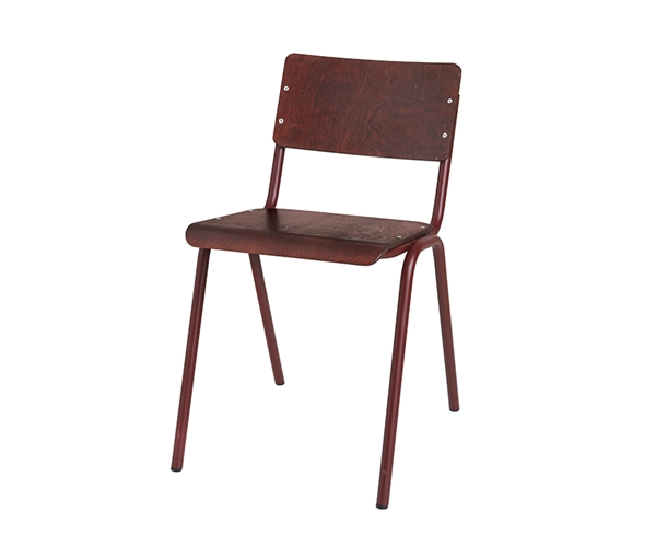 CHAIR 'OLE' STEEL WOOD