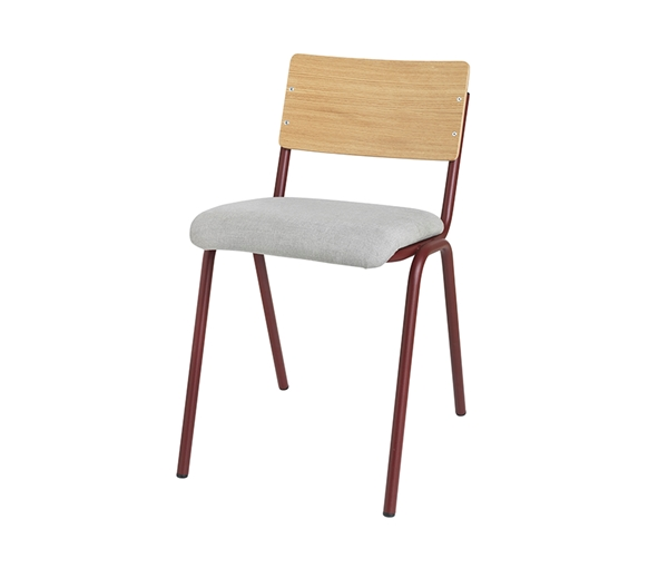 CHAIR 'OLE' STEEL WOOD POLY.