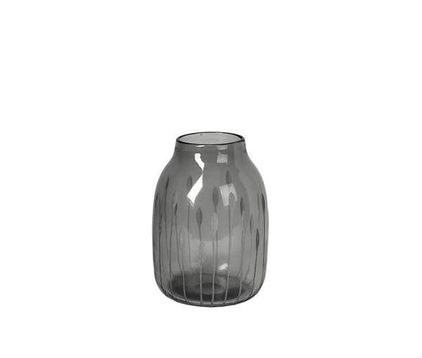 VASE 'SHAPE' MOUTHBLOWN GLASS